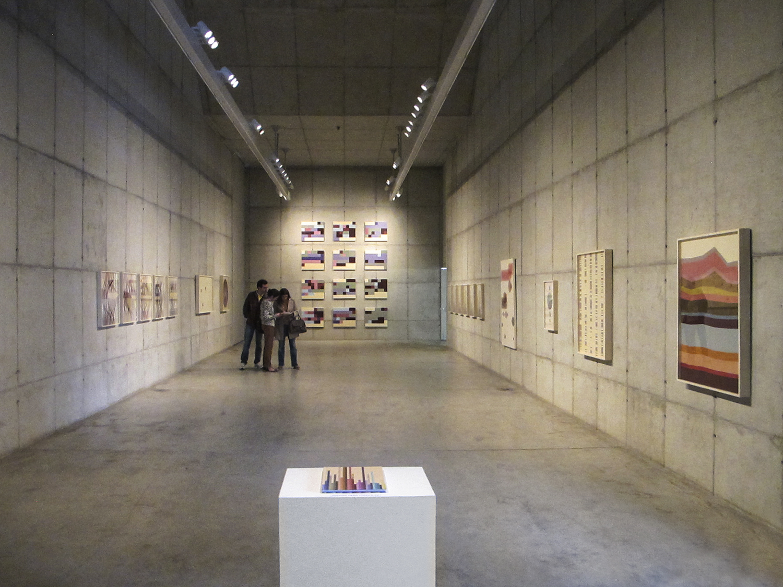 Autorretratos Estatísticos • Vista geral da exposição, Galeria Leme • 2012