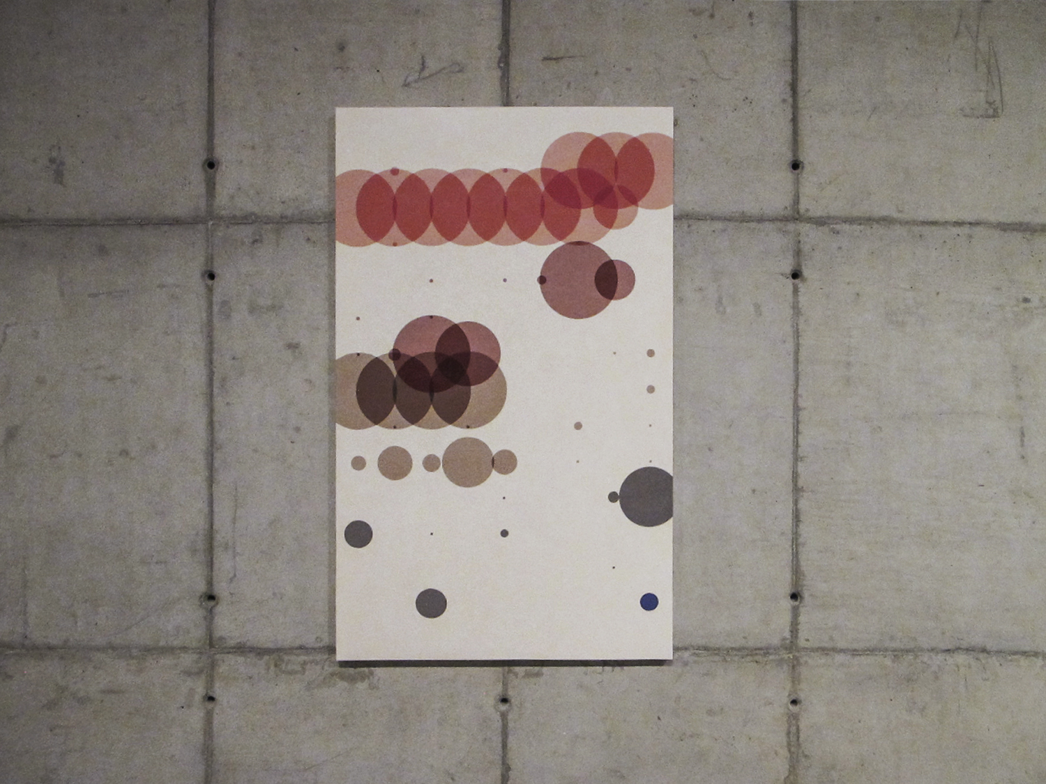 Time with Daughter (  Statistical Self-portraits series) •2012 • Acrylic on canvas + artist book  •59.06 x 35.43 in