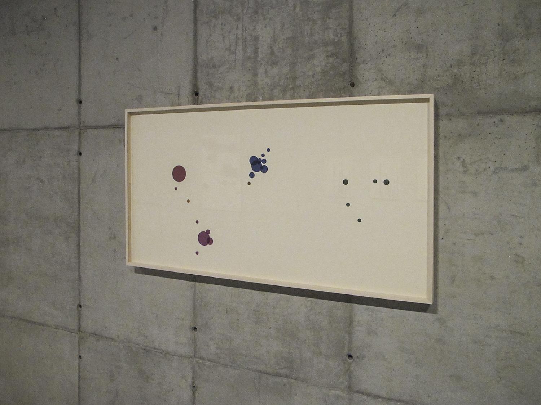 Outros Lugares  (  série Autorretratos Estatísticos) •2012 • Jato de tinta sobre papel de algodão + livro de artista •0,80 x 1,50 m