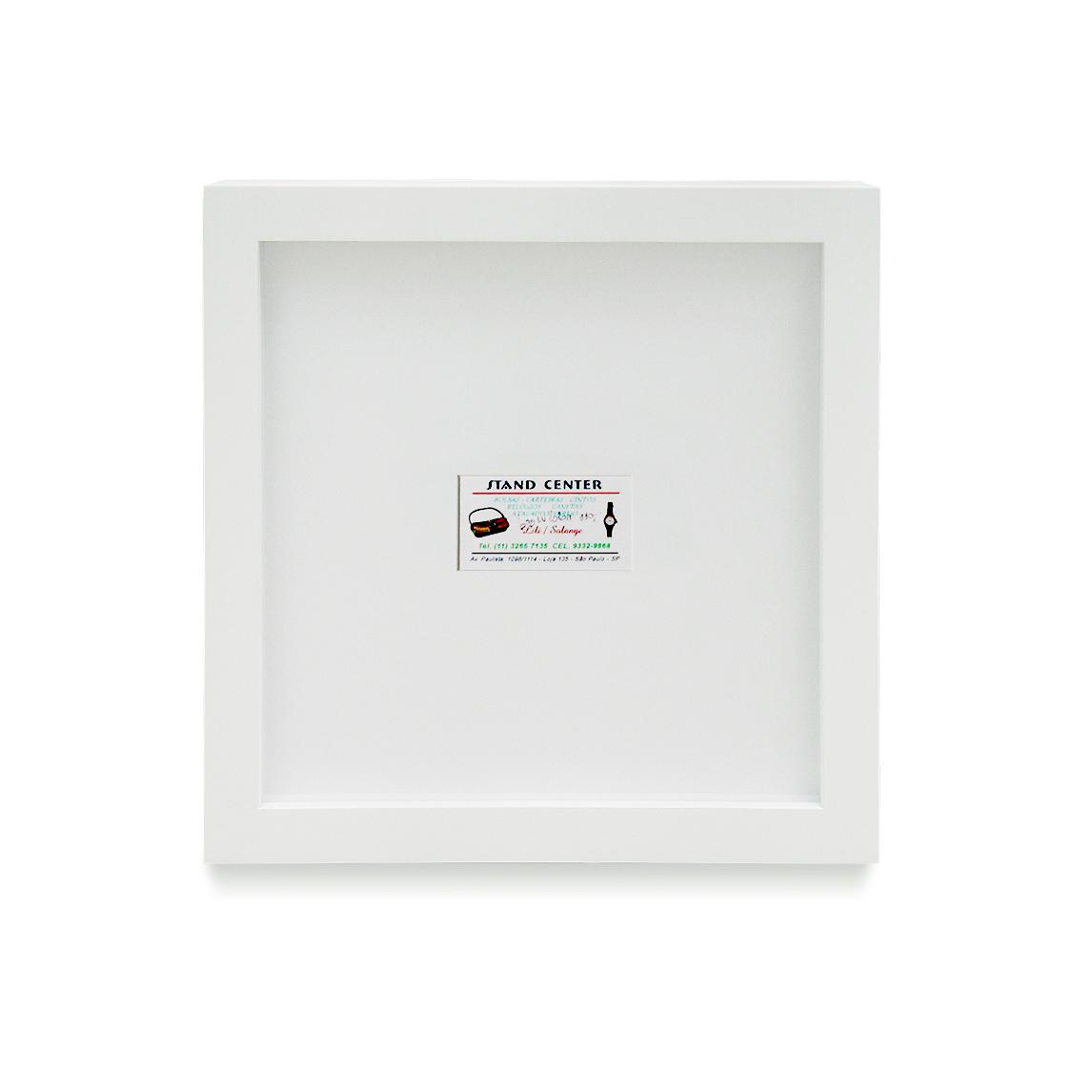 Louis Vuitton: R$ 110,00 (série O Que Te Seduz) (detalhe) •  2004 •  Fotografia, impressão digital, recibo de compra •  120 x 80 cm, 30 x 30 cm (díptico)  • Coleção MARP - Museu de Arte de Ribeirão Preto