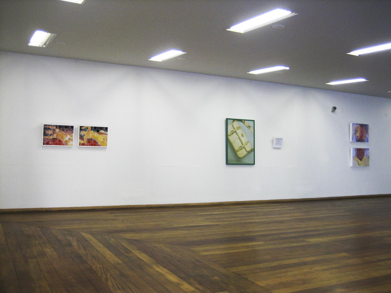 Solo show at MAB - Blumenau Museum of Art, in Blumenau, Brazil. 2006.