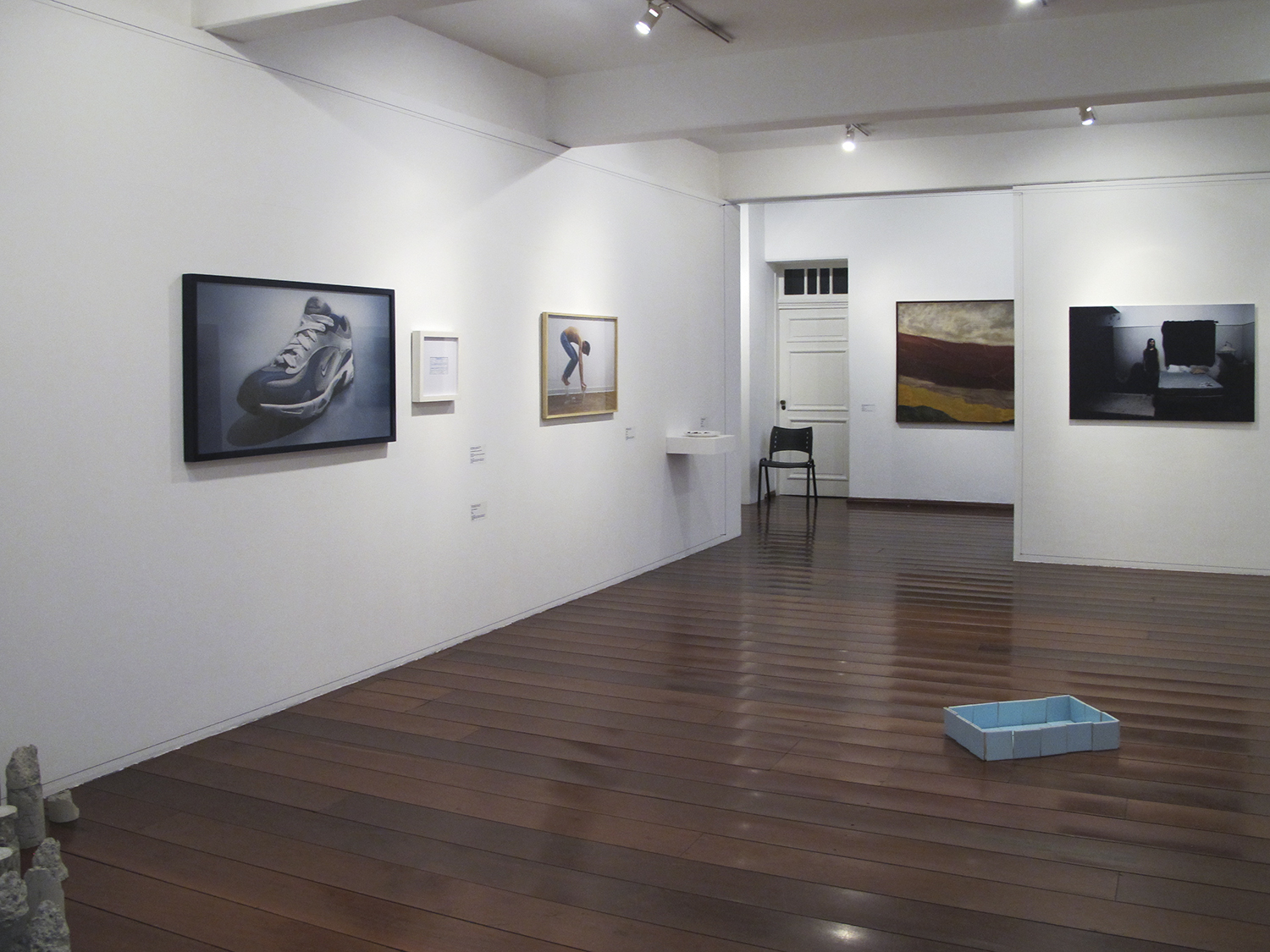 MARP and the Body of Art  : group show at MARP – Ribeirão Preto   Museum of Art  , August 2011.   Work on show: Nike: R$ 35,00 (What Seduces You series) (MARP Collection)