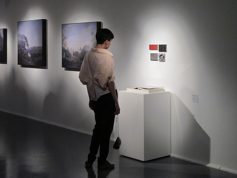Exposição individual no SESC Ribeirão Preto, agosto de 2011.