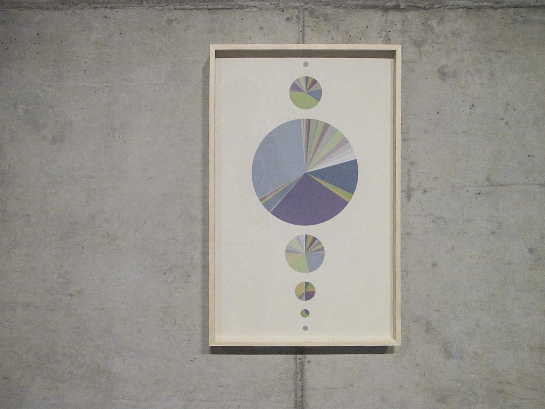 Provenances    (  Statistical  Self-portraits series  )  •2012 •   Inkjet print on cotton paper + artist book   •26 x 15.75 in