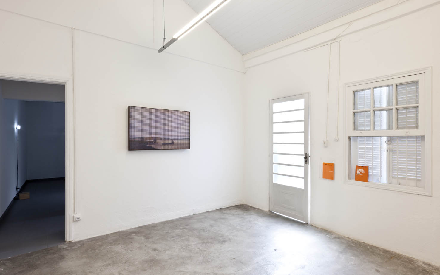 Past Perfect   group show at Fidalga Project, São Paulo, 2012. Photo: Ding Musa.