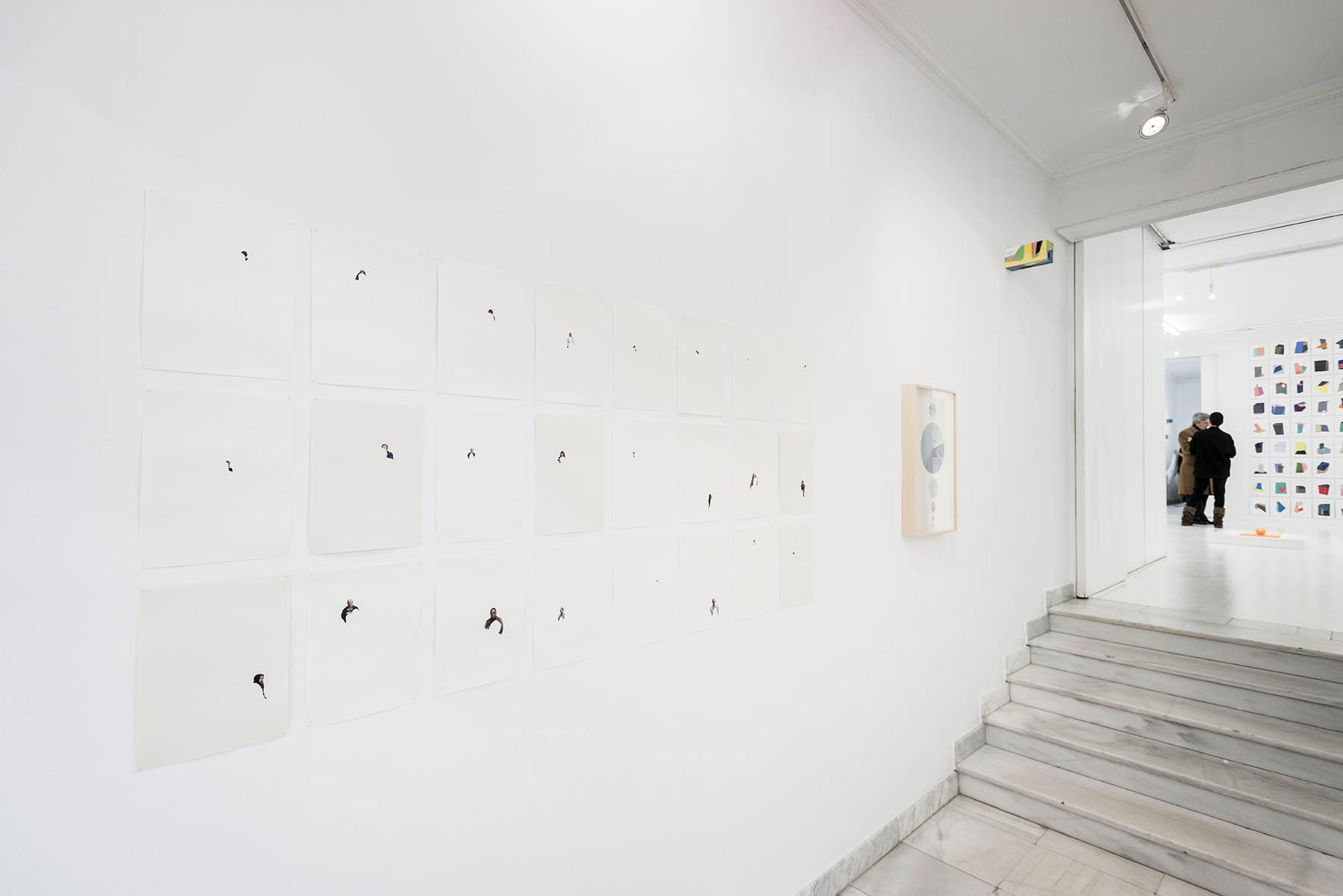 Abstración/Abstração  •  Coloetiva na Galeria Fernando Pradilla • Madri, Espanha • Fevereiro de 2016 • Foto  Ding Musa