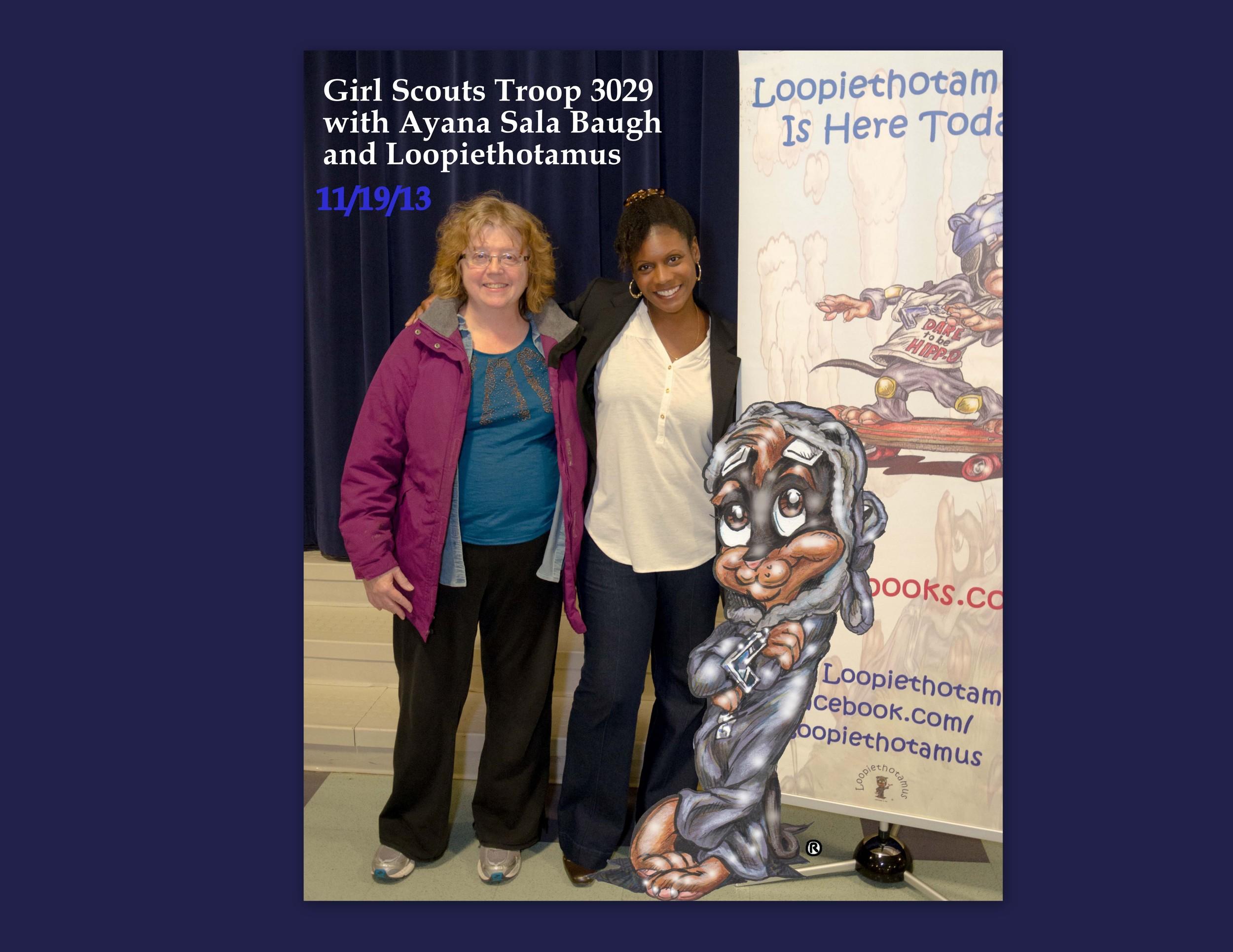 Speaking Engagement Girl Scouts Troop 3029 111913.jpg