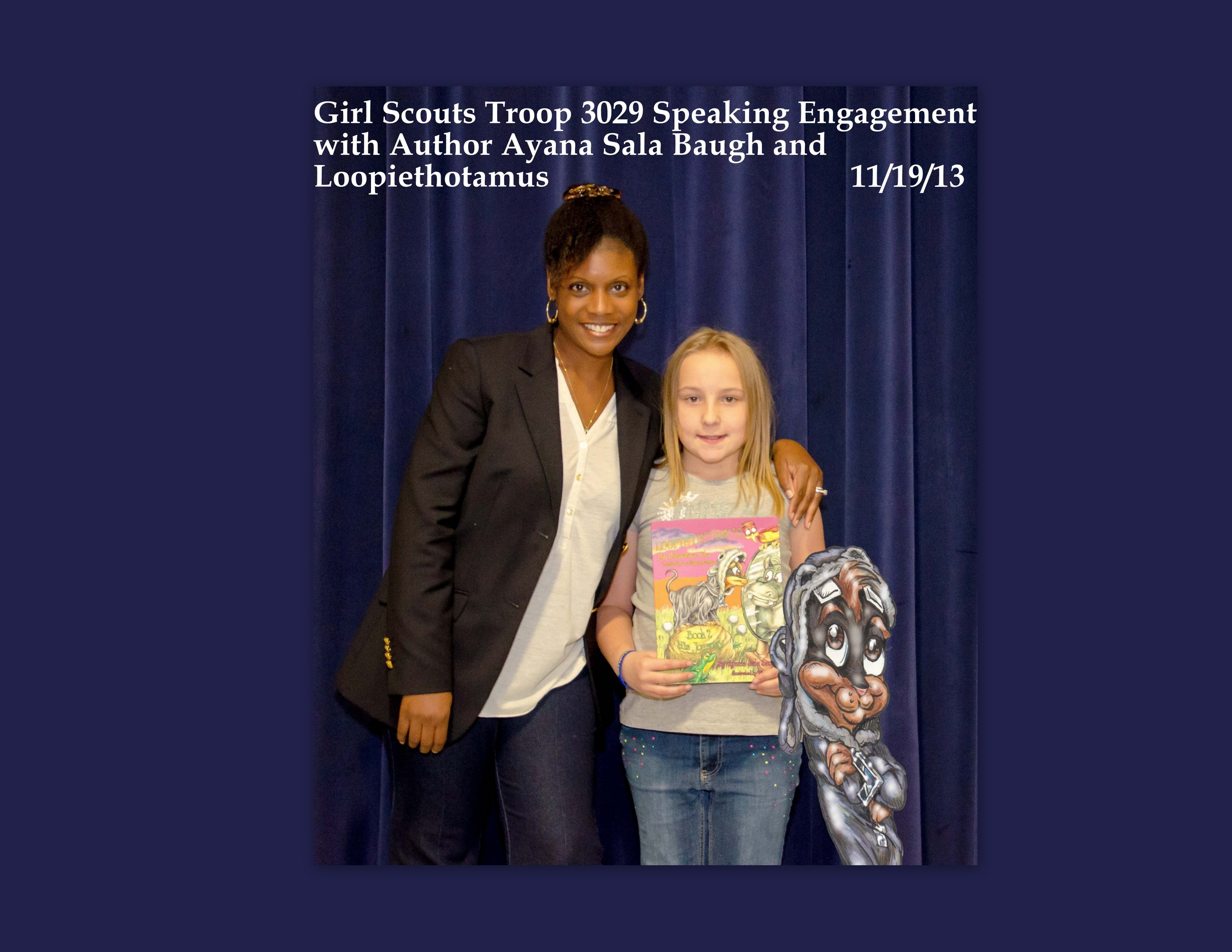 Speaking Engagement with Girl Scouts Troop 3029 111913 3.jpg