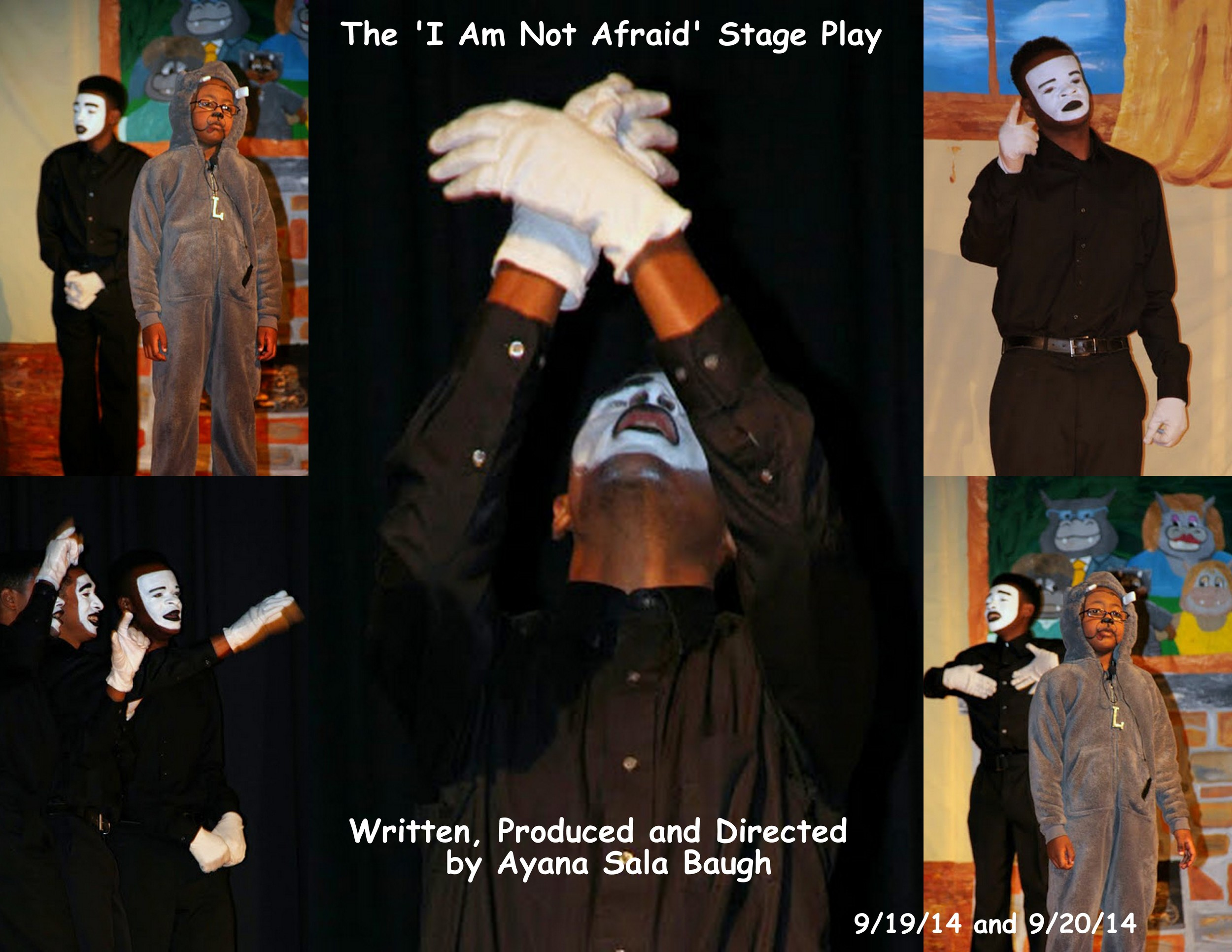 I Am Not Afraid Stage Play Pics 091914 and 0920144 collage 6.jpg