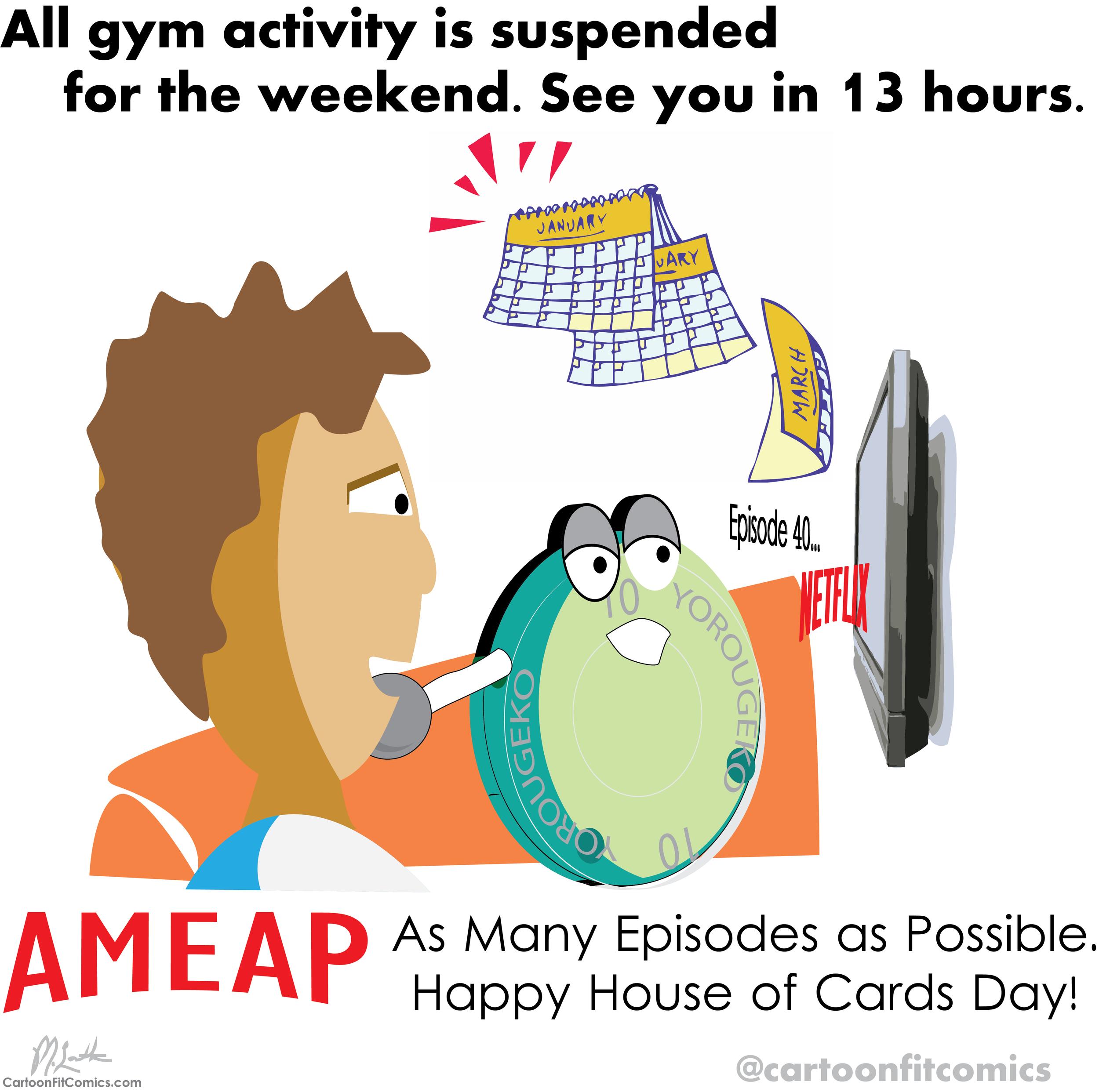 Platey - AMEAP - House of Cards - CartoonFit Comics