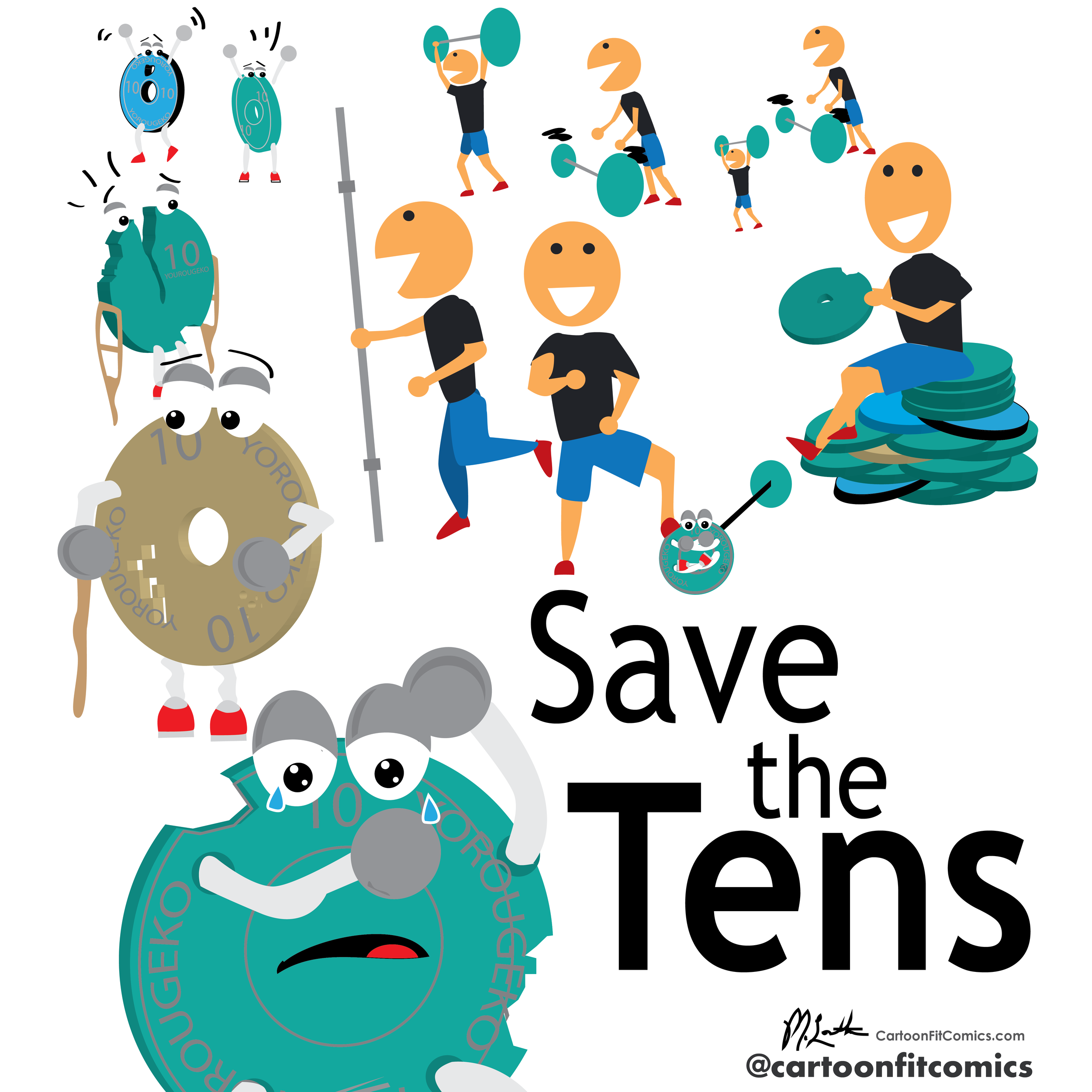 Platey - Save the Tens