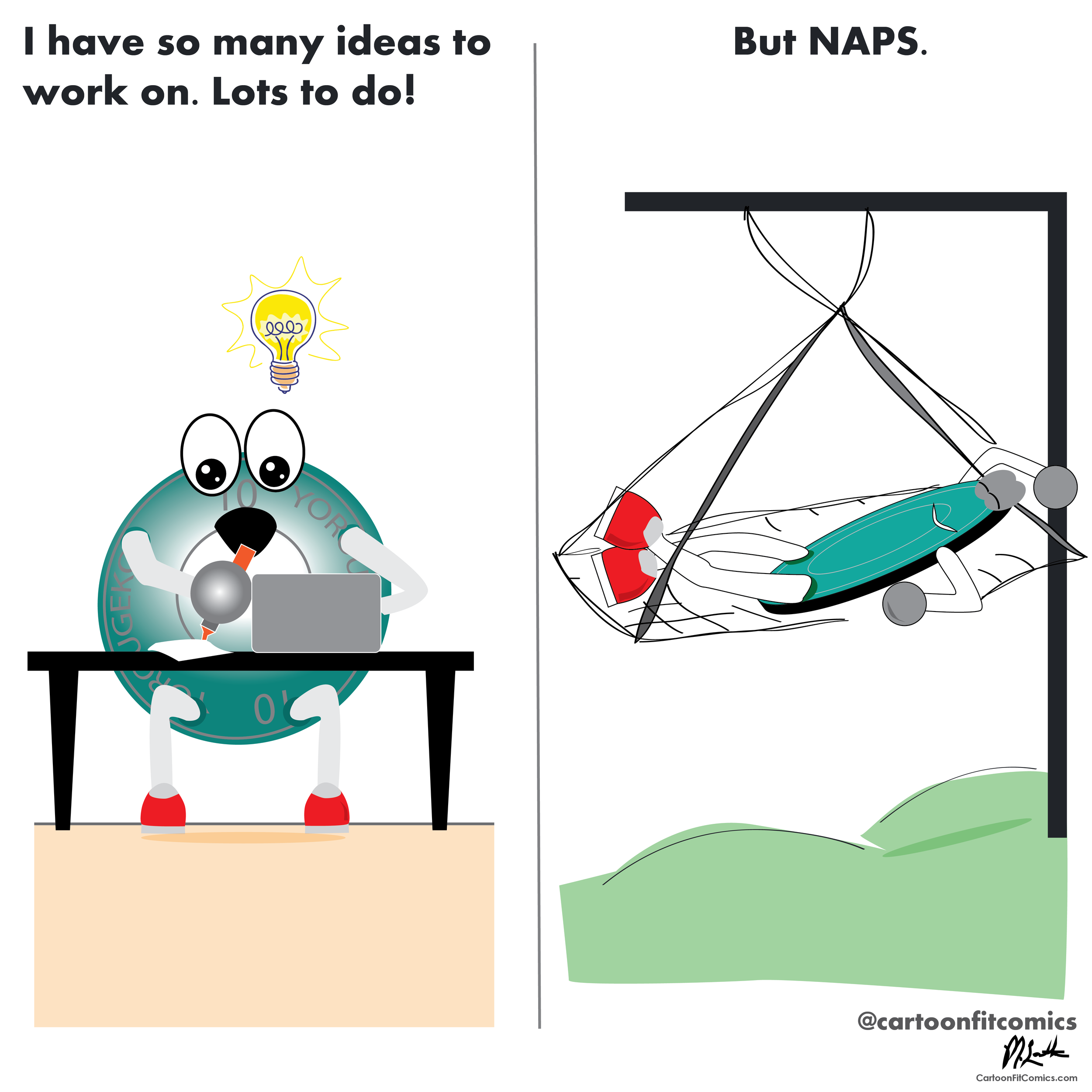 CartoonFit - Platey - Naps