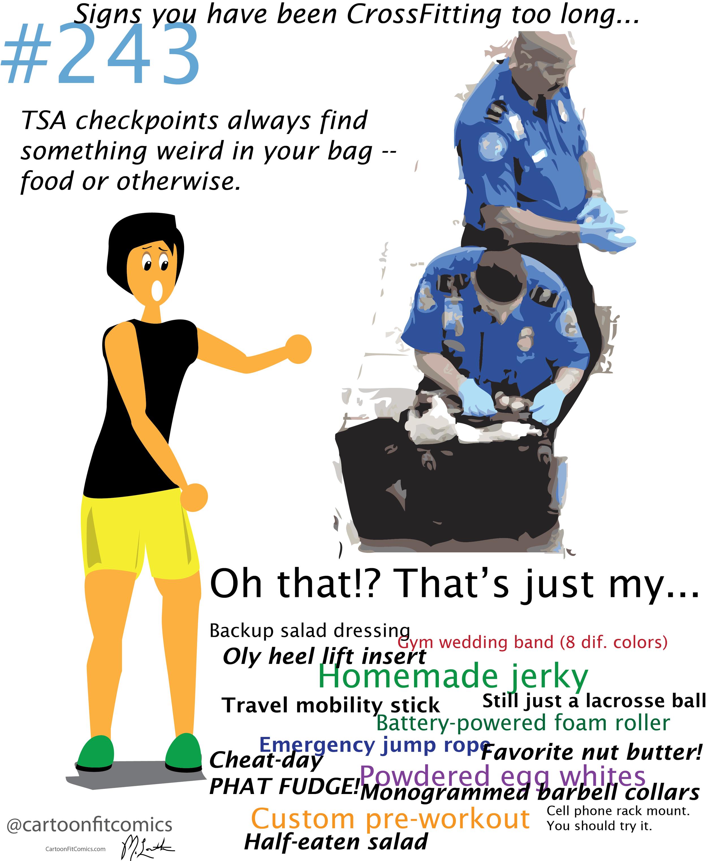 CrossFit TSA Problems
