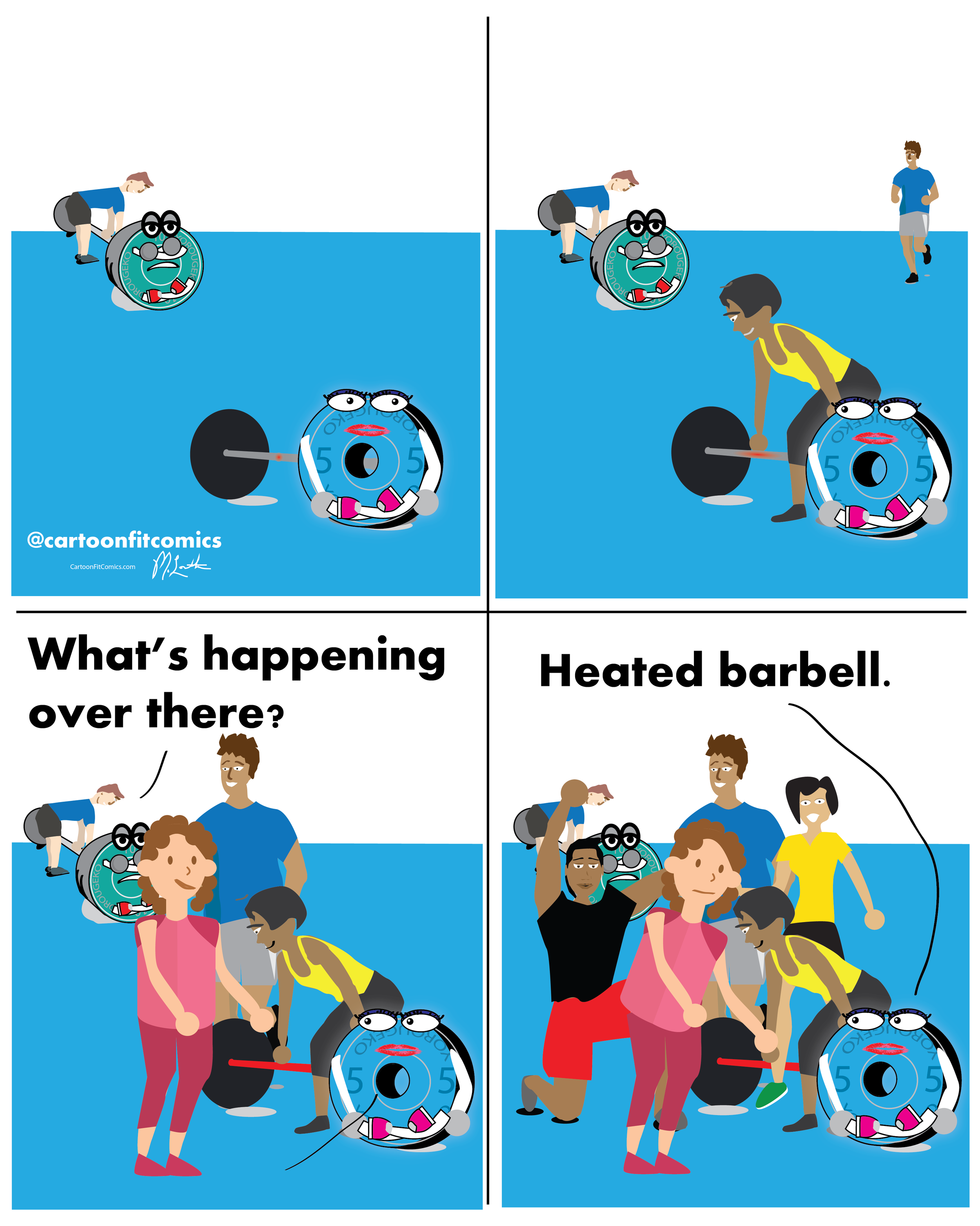 Heated Barbell - Platey