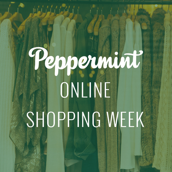 Peppermint Online Shopping Week
