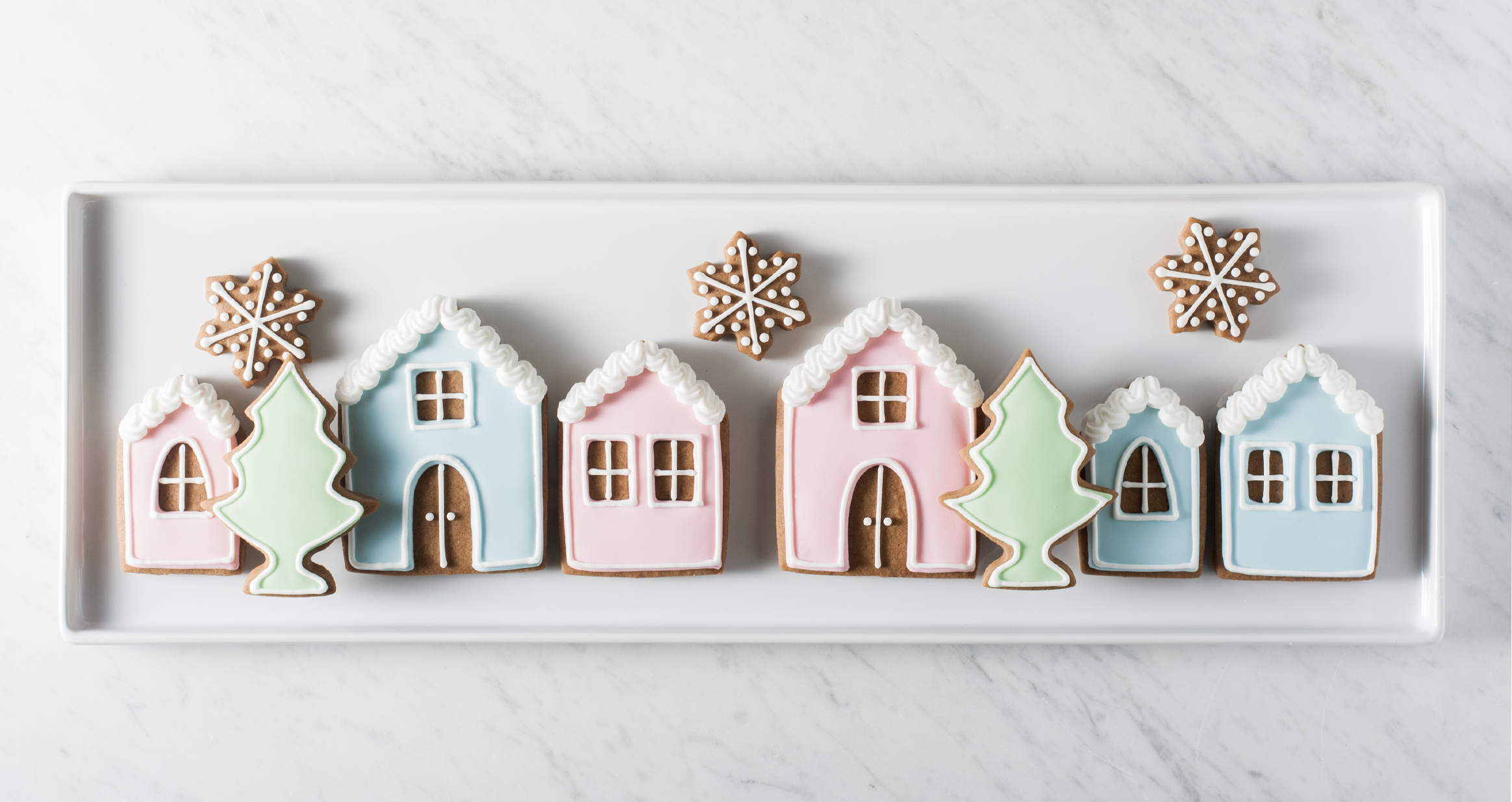 - Gingerbread House Cookies