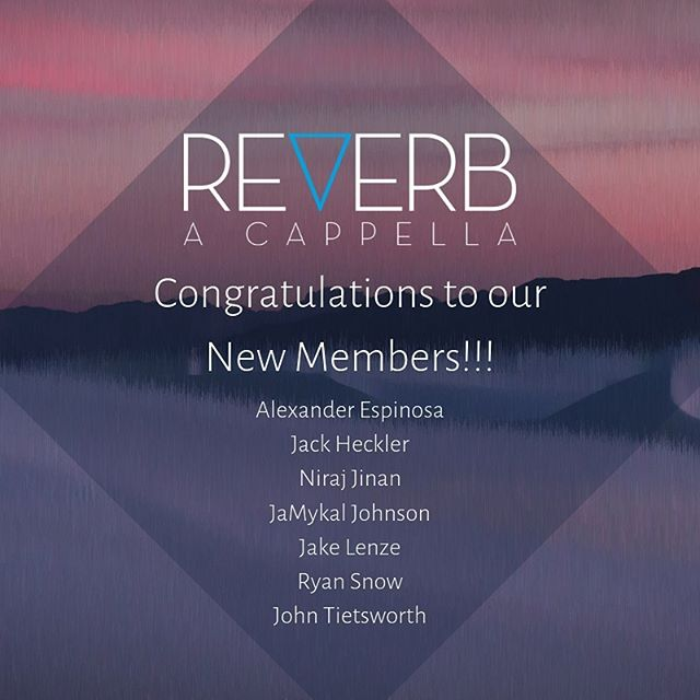 After some killer auditions we're excited to welcome our new members to the group!!! 💥 Can't wait to show you all what they have in store for you. 🎶  Returning members: Jay Delano Alexander Feliciano Jacob García  John Matthews  Muni Ng Bond Peuckert