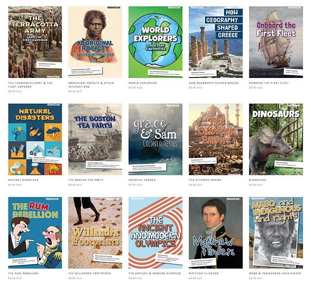The HistoriCool Teacher Hub contains over 80 resources helping educators around Australia engage their upper-Primary and lower-Secondary students in History. ✅First fleet ✅Federation ✅Gold rush ✅World exploration ✅Celebrations around the world ✅Multiculturalism & migration ✅Indigenous history ✅ancient history ✅archaeology ✅medieval time... If you're teaching it, we've got a resource on it! Check it out this school holidays!