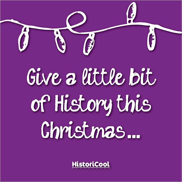 Give the little history buff in your family something to sink their teeth into this Christmas! For a limited time, pick up 6 issues of HistoriCool magazine for the price of 5, and our brand new book 'Gross, Gory & Totally True Stories from History' makes a great school KK or stocking stuffer! 🎁🎁🎁