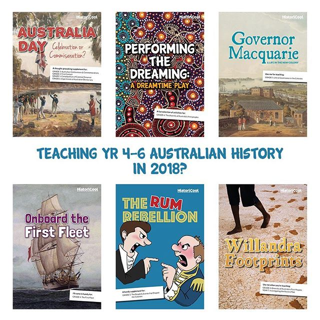 Have you visited the HistoriCool Teacher Hub yet? If you're teaching upper primary Australian History this year stop by and check it out! Resources to cover every curriculum concept are just a click away (and for half the price of a coffee ☕️) Grade 3 and lower secondary teachers - we've got you sorted too! And for the TPTers among us, all of our resources are available on TPT too!