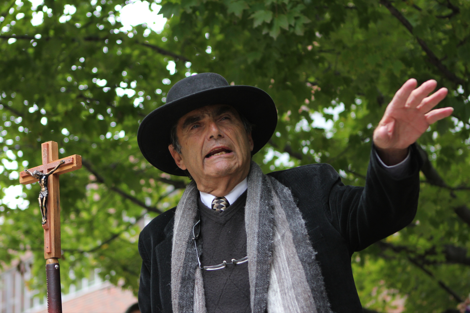 "Brother Jed told students to reject ""evilution,"" the ""lies of Satan"" and the ways of the world and to instead let God run their lives or be sent to hell."