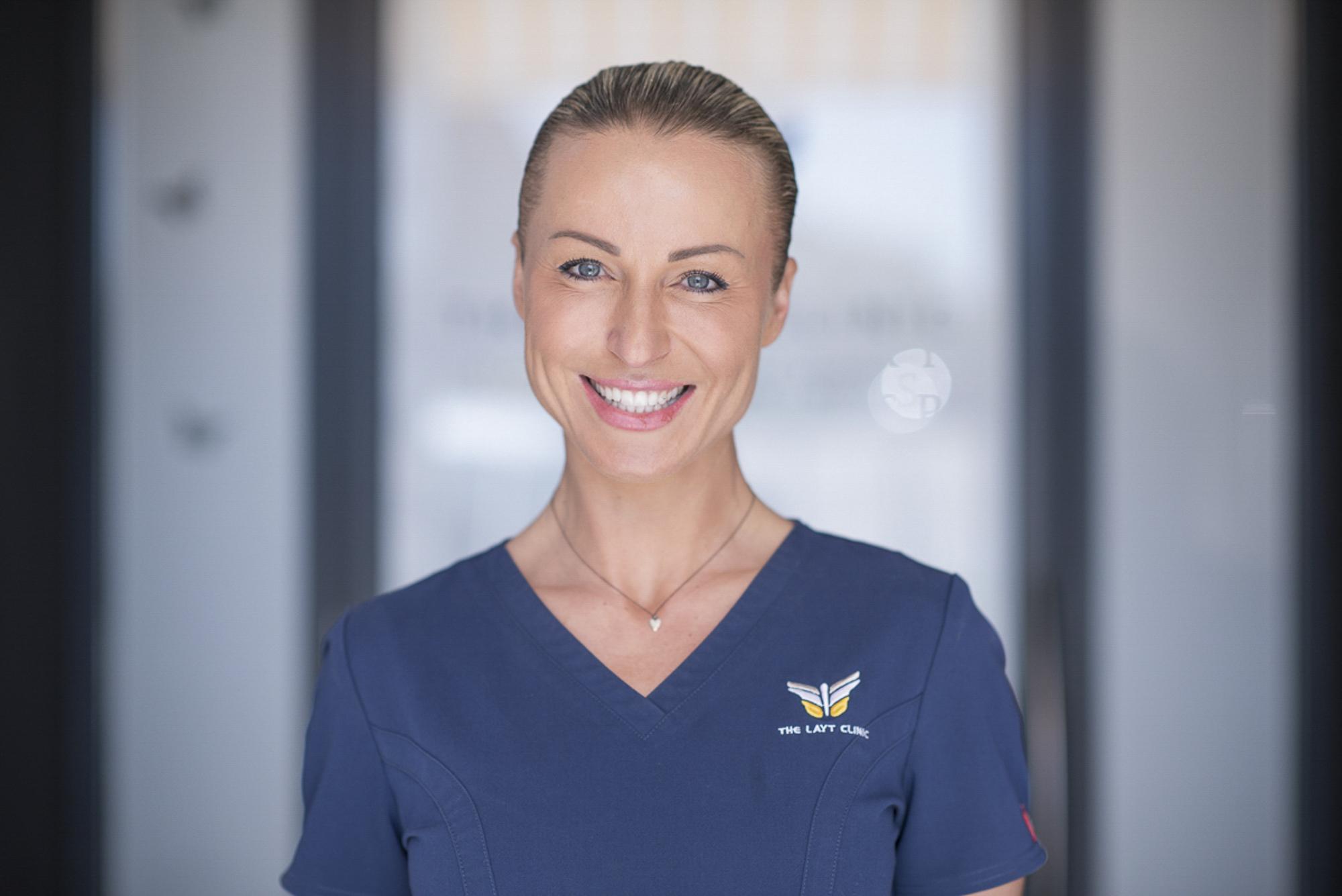 The Layt Clinic, anaesthetic nurse specialist portrait