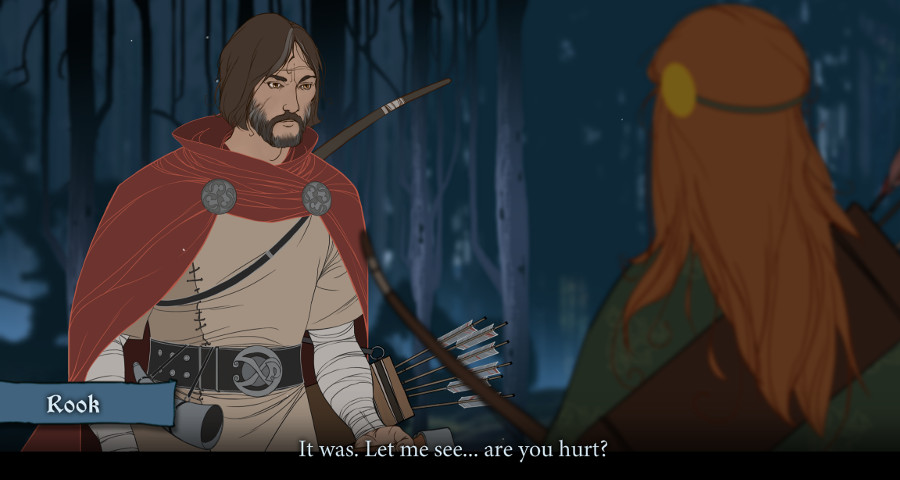 Everyone in The Banner Saga seems to be hurt, or dying, or hurt and dying. I'm all for this.