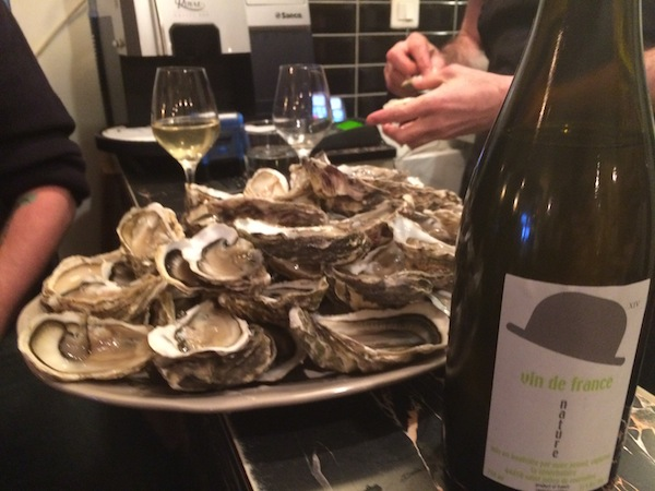Oysters and Marc Pesnot