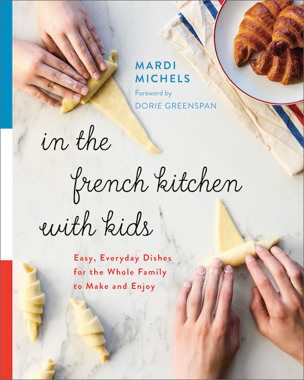 Interview: Mardi Michels author,  In the French Kitchen with Kids - In the past year I've started a new business, taken on a ton of freelance work, and to top it all off, had a baby. With all that going on, I haven't had much time to keep up the blog- or even to eat, to be honest. That's why it's so fitting that I get back to my Paris Paysanne baby with a post on cooking with kids. Mardi Michels- founder of the site eat.live.travel.write- has written a new book called In the French Kitchen with Kids. Perfect for francophile families, the cookbook includes tips on cooking with kids and equipping your French kitchen as well as recipes that take you from le petit déjeuner to le dîner.