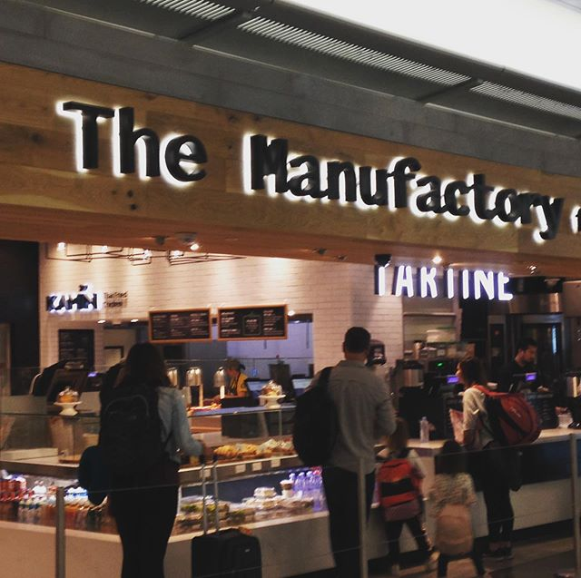 Bye Bye San Francisco !! Thanks for putting a @tartinebakery in your airport!!