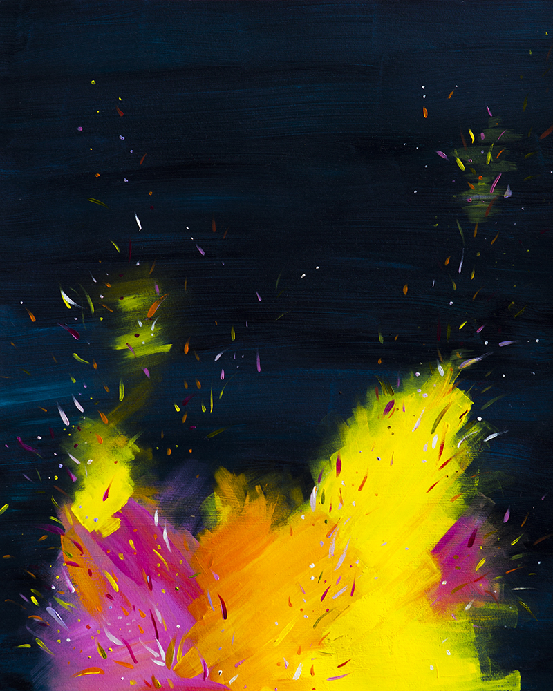 Confetti Fire # 2- See More