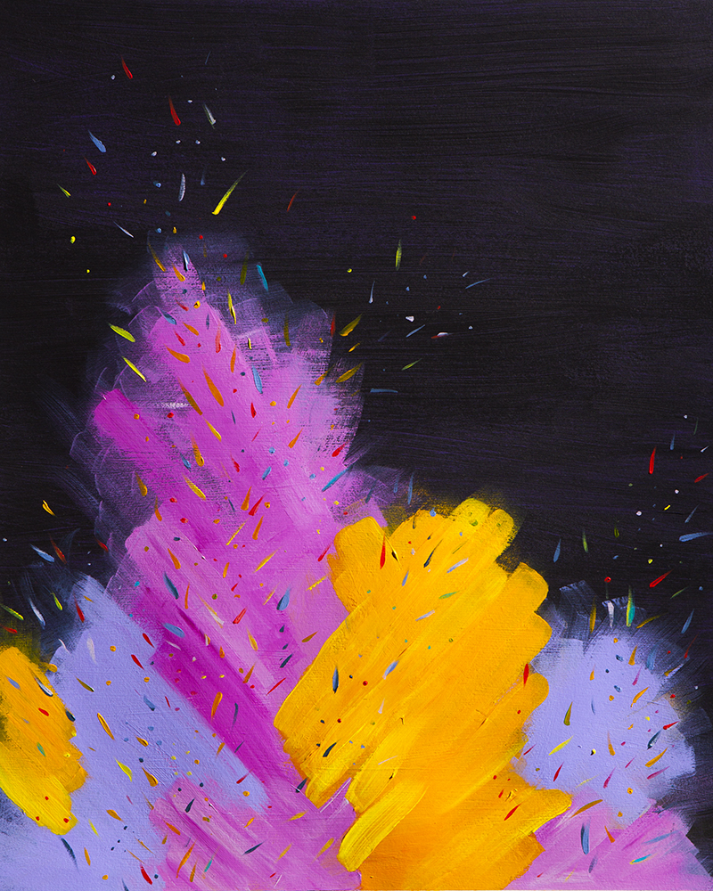 Confetti Fire #3 - See More
