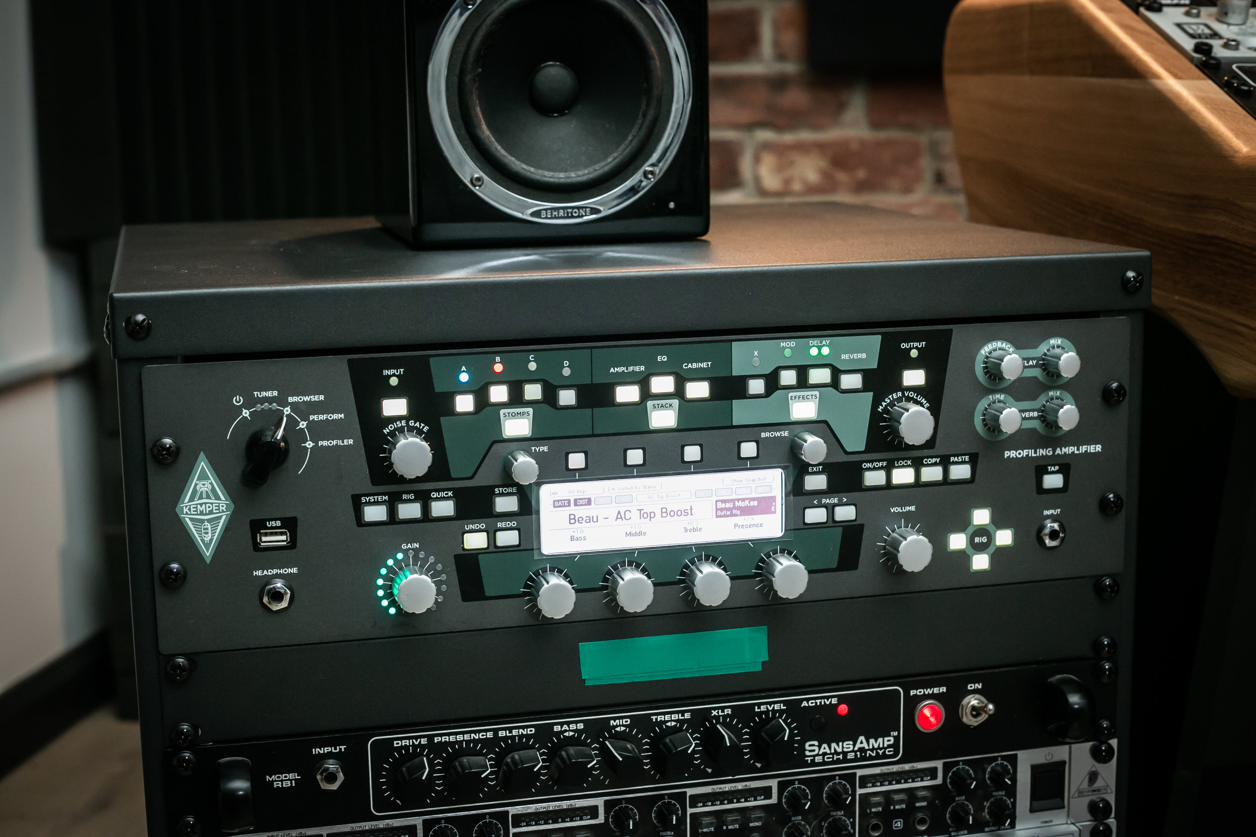 Guitar and Bass Gear worth a mention - Kemper Profiling AmplifierSansamp RBIDarkglass GearLots of other gear (can provide on request)Looking for a special piece of gear? Hit us up