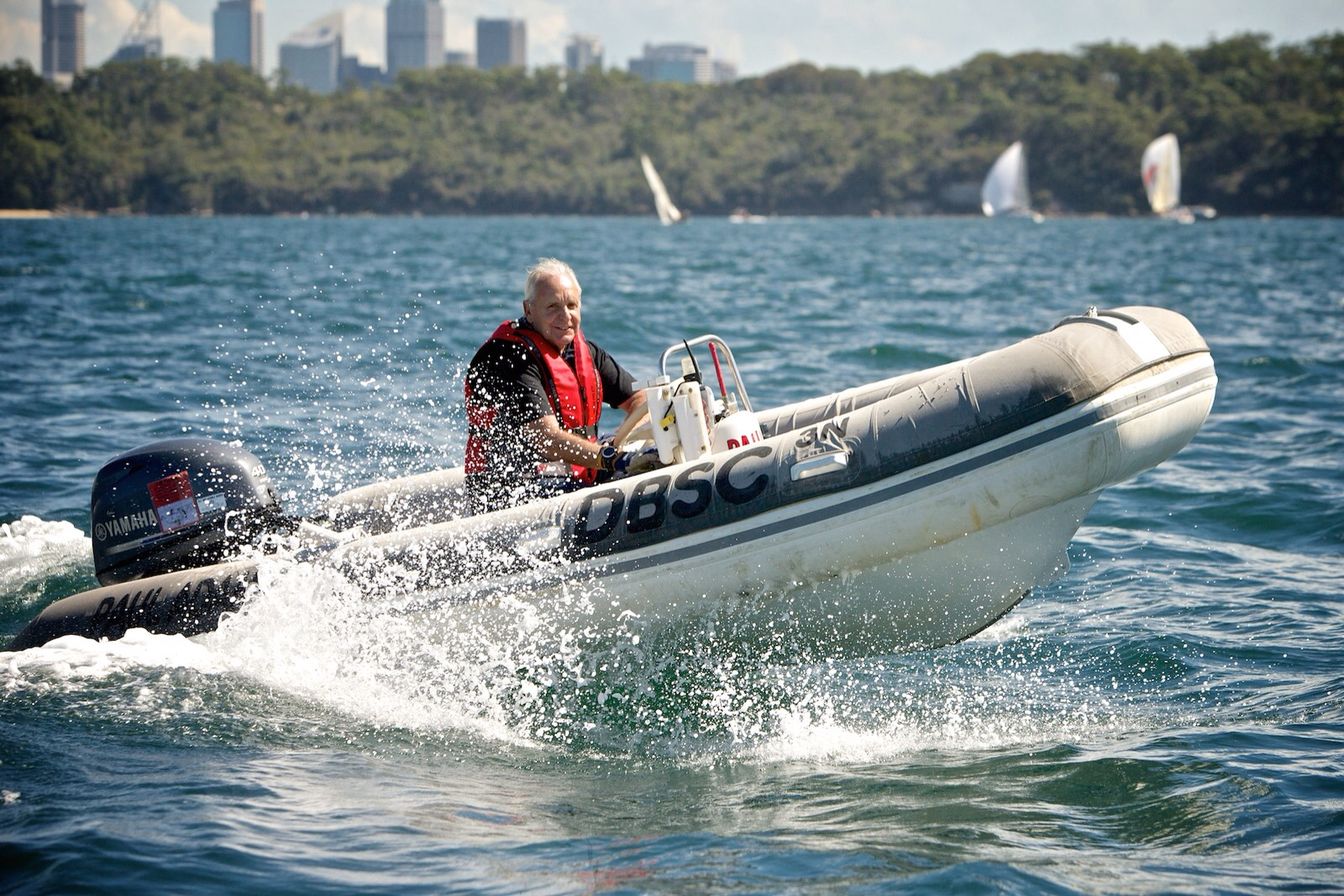 What could be finer than cruising the harbour in our RIB? We'll even lend you a hat