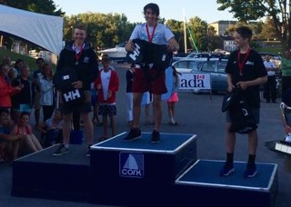 Finn mixing it up on the Podium with the Canuks