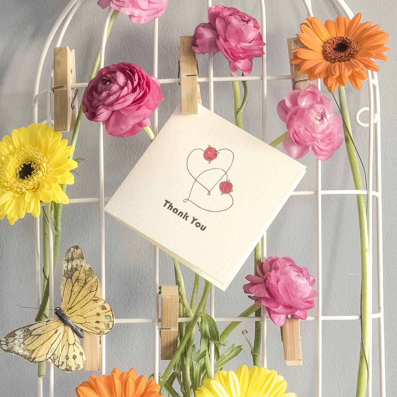 The Hearts - Thank You cards