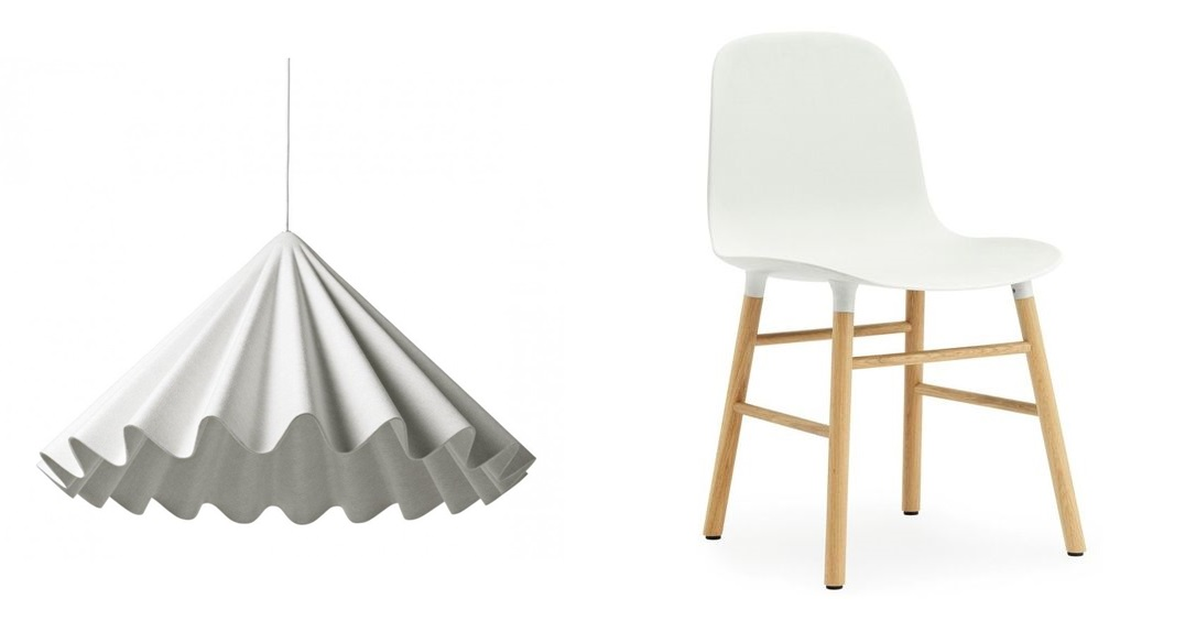 Lampa ,  krzesło:  pufadesign.pl