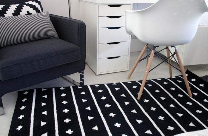 Linki: dywan,   krzesło