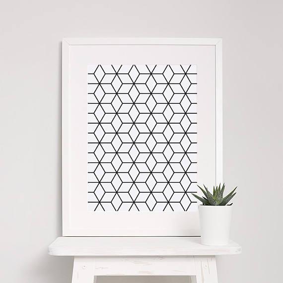 Geometryczny plakat