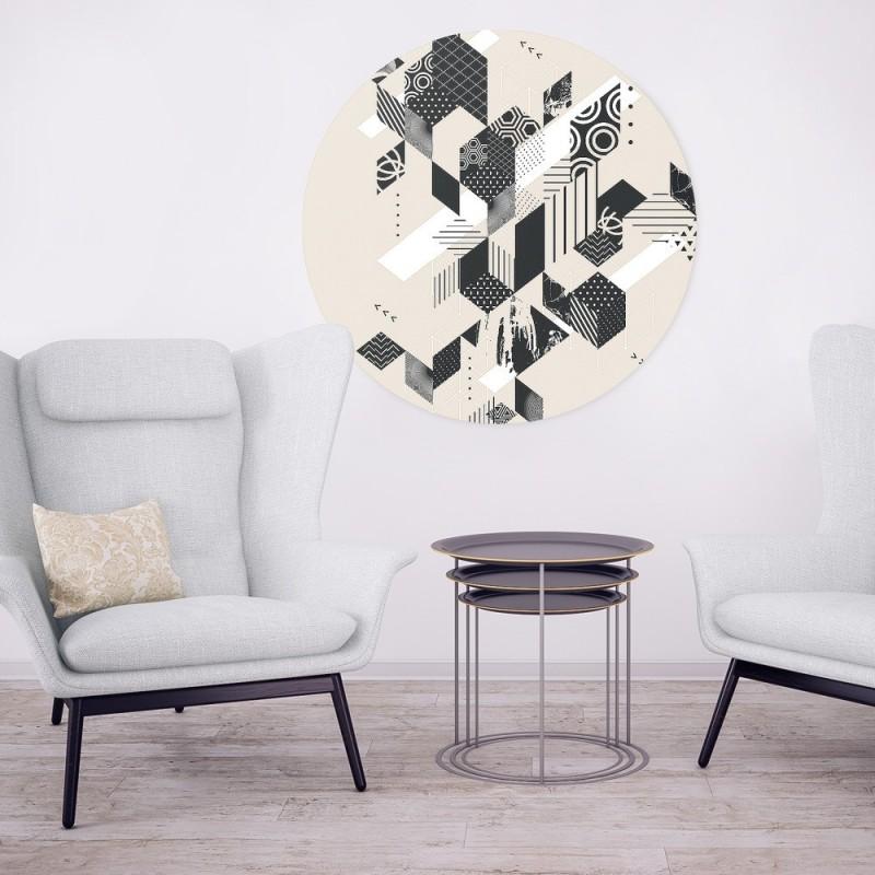 Deco panel w geometryczny wzór
