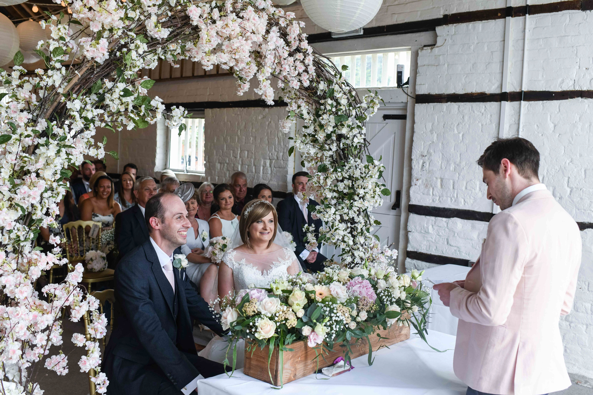 Lillibrook Manor Barn Wedding, Maidenhead, Alexandria Hall Photography (33 of 82).jpg