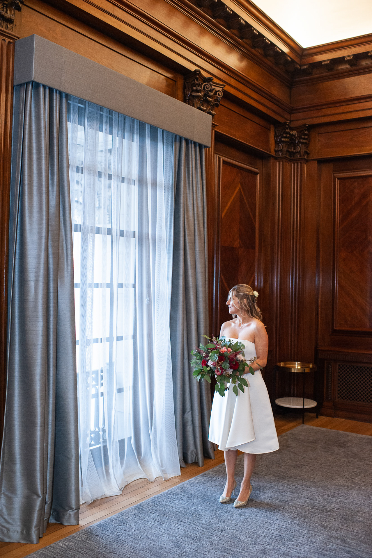 The Old Marylebone Town Hall Wedding, Pimlico  Room, Alexandria Hall Photography (1 of 56).jpg