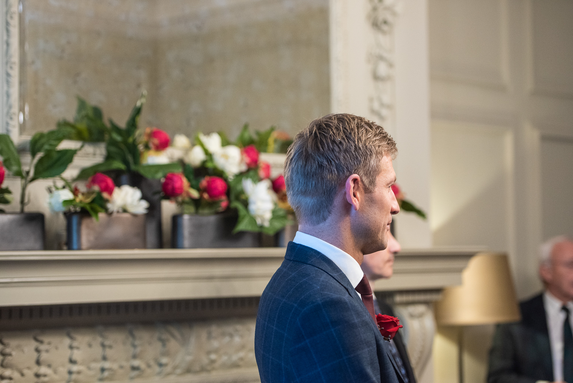 The Old Marylebone Town Hall Wedding, Pimlico  Room, Alexandria Hall Photography (5 of 56).jpg