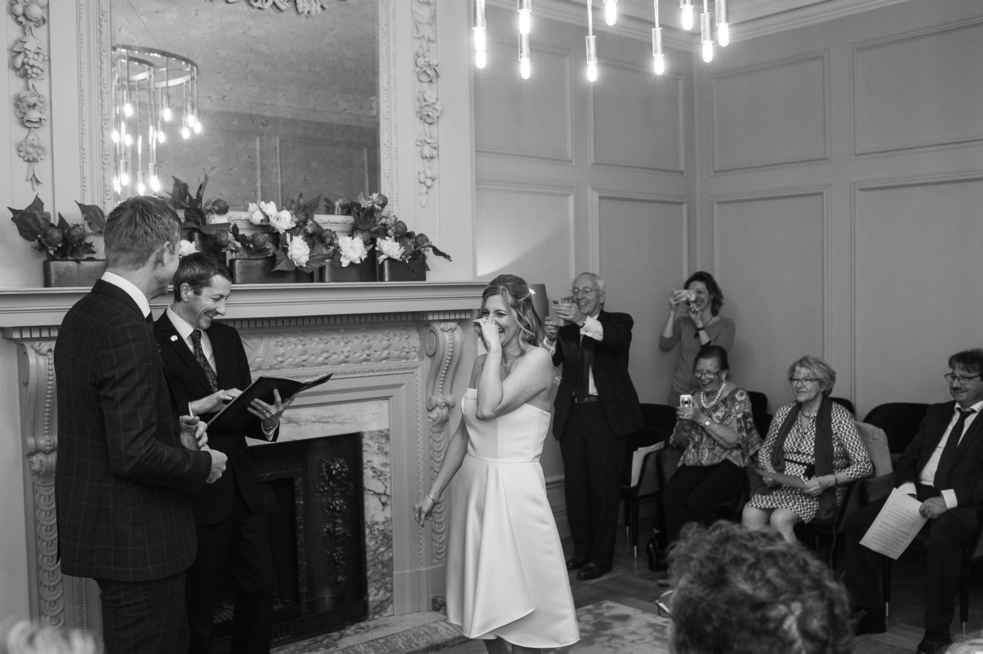 The Old Marylebone Town Hall Wedding, Pimlico  Room, Alexandria Hall Photography (19 of 56).jpg