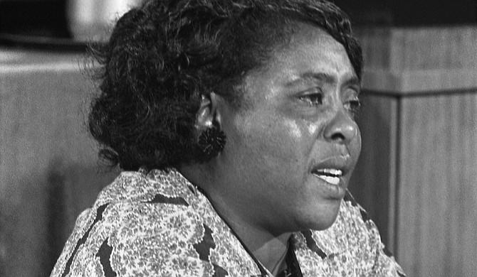 Fannie Lou Hamer, civil rights activist in the Delta