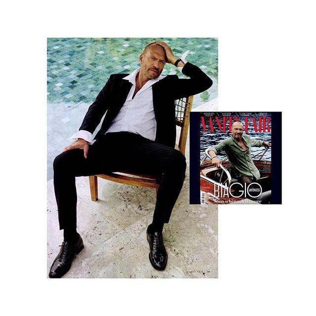 Amazing Biagio Antonacci on Vanity Fair wearing Xacus!  @xacus @vanityfairitalia @biagioantonacci photographer: @mariogomezphotography THANKS!!! @crilucchini // #xacus #shirt #editorial #fashion #biagioantonacci #fashionmagazine #fashionphotography #vanityfair #pressoffice #sosweetpr #pragency #milan #fashioneditorial #photography