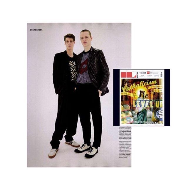 @goldengoosedeluxebrand on @24ilmagazine // Photography @vitofernicola Styling @acardini Grooming @michelequreshi // #editorial #menseditorialfashion #fashion #fashioneditorial #ilsole24ore #goldengoosedeluxebrand #outfit #cool #sosweetpr #fashionphotography #fashionstyling #fashionstory
