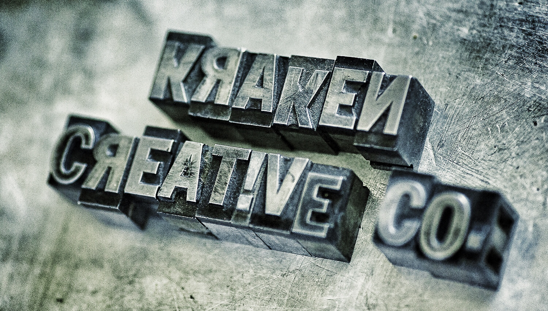 Cast metal type blocks I found at the 2014 LA Printer Fair