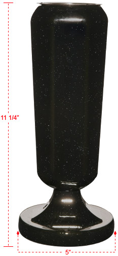 Vases supplied by U.S Metalcraft Inc.