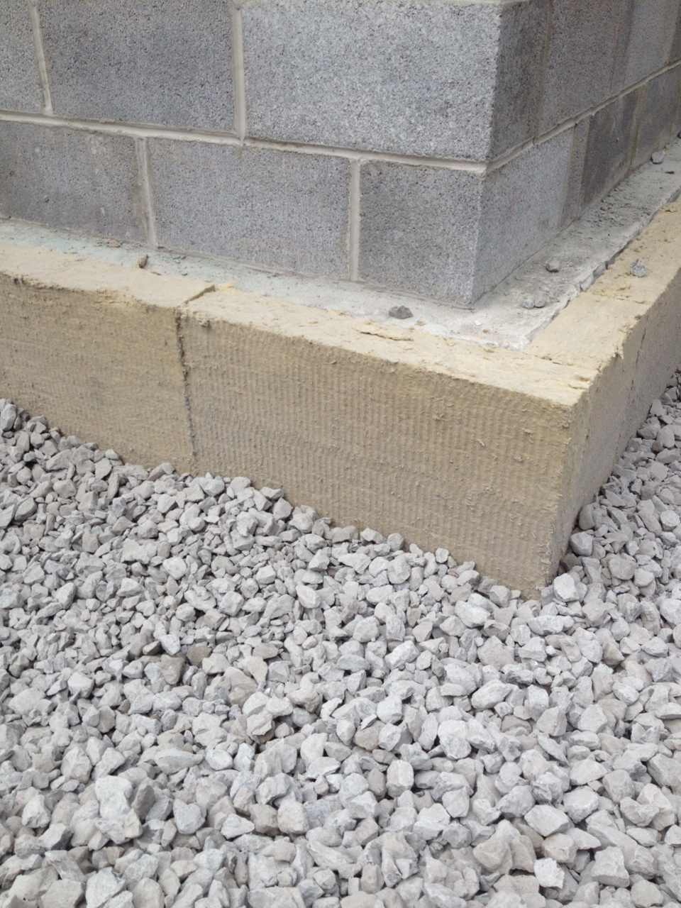 Exterior Insulation - Mineral Wool